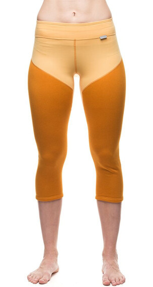 Houdini W's Mix Drop Knees Oats/Spring Yellow